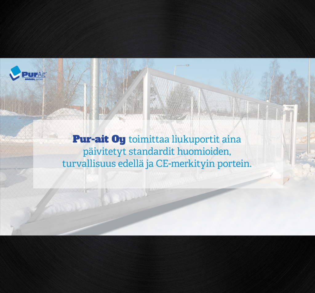 Pur-ait Oy CE-hyväksytyt tuotteet.